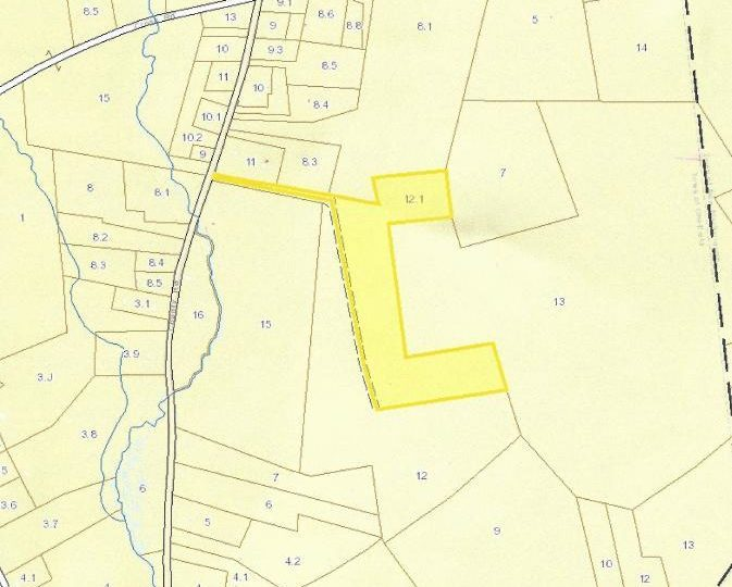 Image showing property map